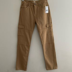 7 for all mankind cargo pant khaki NWT